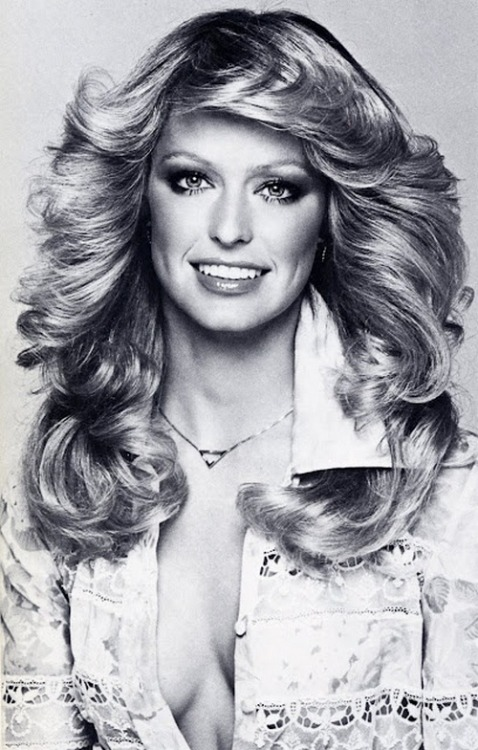 superseventies:  Farrah Fawcett by Francesco Scavullo, 1975.  my early love!