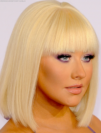Christina Aguilera at the 2012 American Music Awards