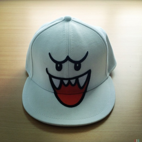 Boo Cap • I'm ready for summer now! #boo #mario #nintendo #cap #summer #hat
