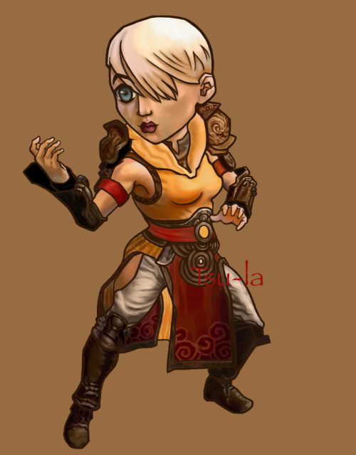 Lady Monk chibi