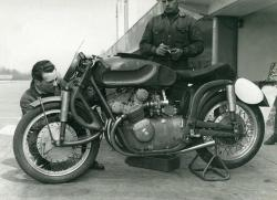 habermannandsons:   MV Agusta 500, Front Earles suspension.