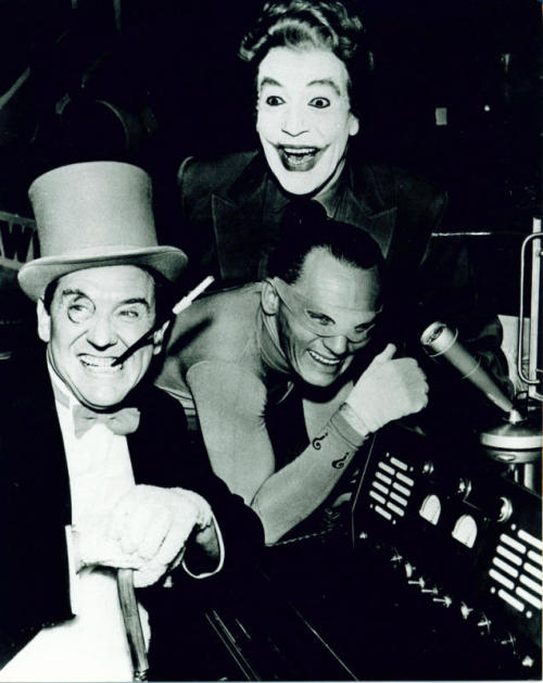 1950sunlimited:  Penguin, Riddler and Joker, c.1966