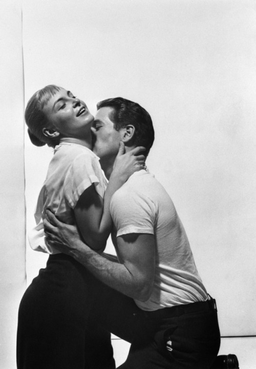 theniftyfifties:  Paul Newman and Joanne Woodward