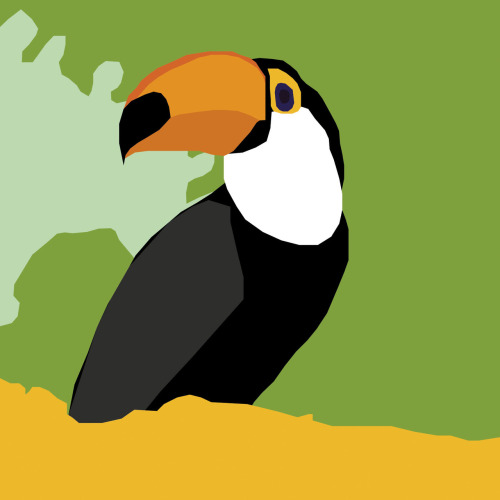 Drawing 2 - A toucan
