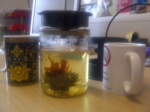 Jasmine Osmanthus Blooming Tea