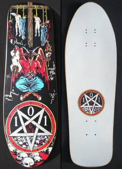 fuckyeahsk8net:  101 / NATAS KAUPAS / DEVIL WORSHIP (REPRODUCTION) / 1992-1999 / ARTIST: MARC MCKEE by snake.williams on Flickr.