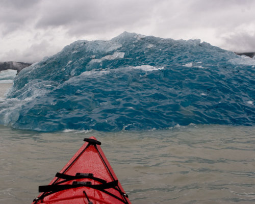 Bottom of an iceberg that just rolled over - by Proteon