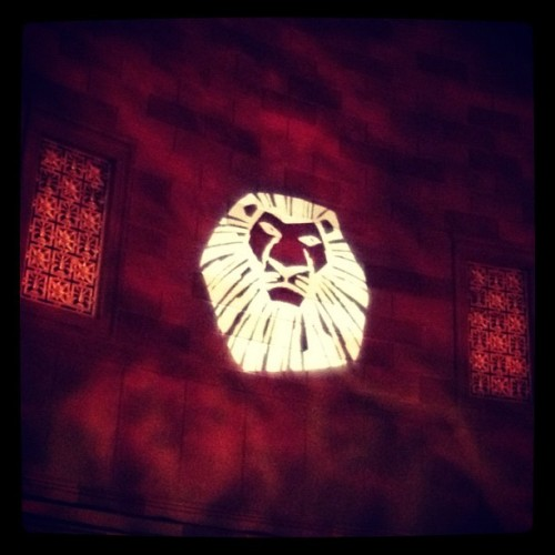 Gotham Hall #thelionking #theatre #disney #afterparty