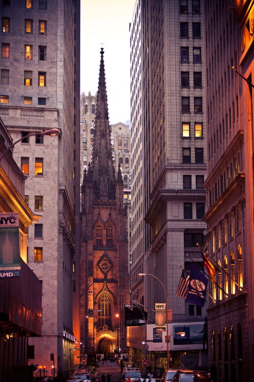travelingcolors:  Wall Street | New York (by chapterthree)