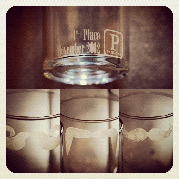 Moustache Mugs for a Movember competition at Pandora!