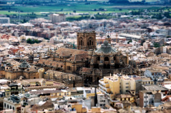 allthingseurope:  Tilt-shift Cathedral, Granada, Spain (by karlo)