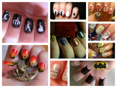 randomhouseca:  13 Literary Inspired Manicures