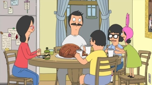 basedonnothing:  The National covered a song from Bob's Burgers As if the The National couldn't get anymore fantastic, they have covered a song from yesterday's Bob's Burgers episode. In the episode, Linda Belcher began singing an original song about Thanksgiving. Then, seemingly out of nowhere, The National recorded a cover version of that…For more click here: http://gd.is/4y2ZMg  Everything about Bob's Burgers is great. That is all.