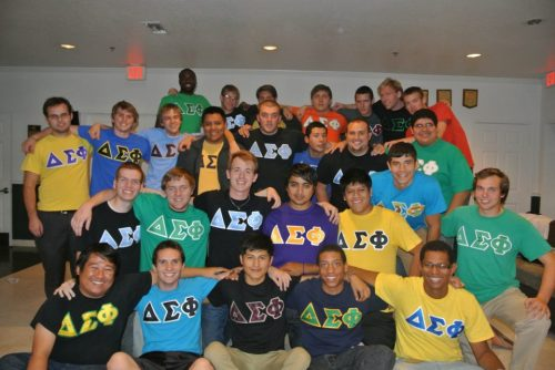 This past week my fraternity crossed 14 new members, such a great feeling knowing all the hard work we have been doing for the past year is paying off.