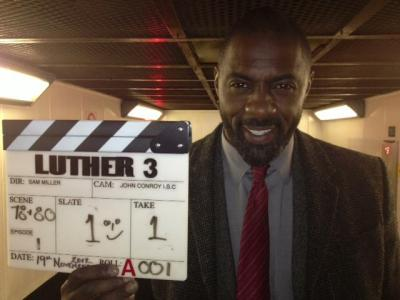 Shooting begins on BBC AMERICA's LUTHER 3 starring Golden Globe Winner Idris Elba