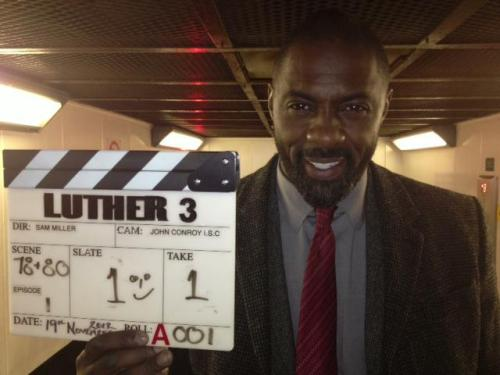 bbcamerica:  Shooting begins on BBC AMERICA's LUTHER 3 starring Golden Globe Winner Idris Elba We can't wait for the Dramaville series to return. Source: Luther BBC (Facebook)