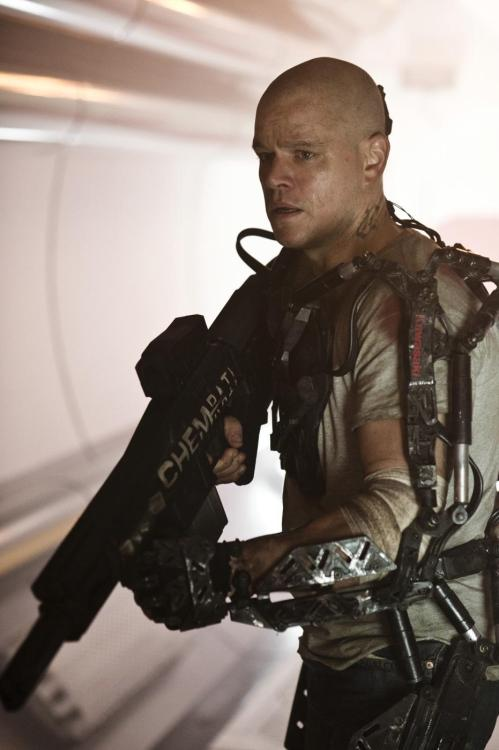 New Still: Matt Damon in Neill Blomkamp's 'ELYSIUM' | Comic Book Movie