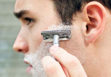 Secrets to a smooth shave on Details.com.