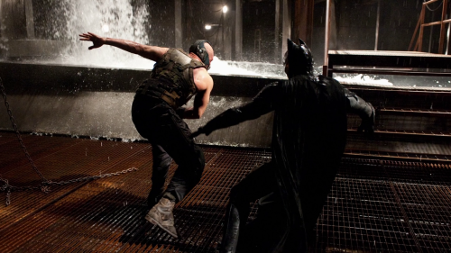 What kind of dance is this, pray tell? Or is Bane training his discus throwing technique?