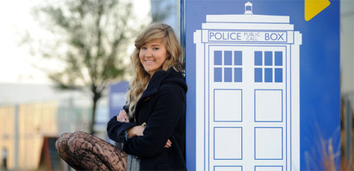 "doctorwho:  Top secret Doctor Who script found (and returned) by student in taxi on night out  If you found a top secret script for a new episode of one of TV's most popular shows, would you be able to hand it straight back without releasing any spoilers? That's exactly what one Cardiff student did after finding a Doctor Who script in the back of a Cardiff taxi. Hannah Durham stumbled upon the script for a forthcoming episode of the sci-fi show during a night out with friends. Producers, scriptwriters and fans of Doctor Who thanked her for returning the missing script and preventing precious plot details from being leaked online. Hannah told WalesOnline she was unaware of the significance of the find until she was bombarded with praise from the show's ""Whovian"" fans."