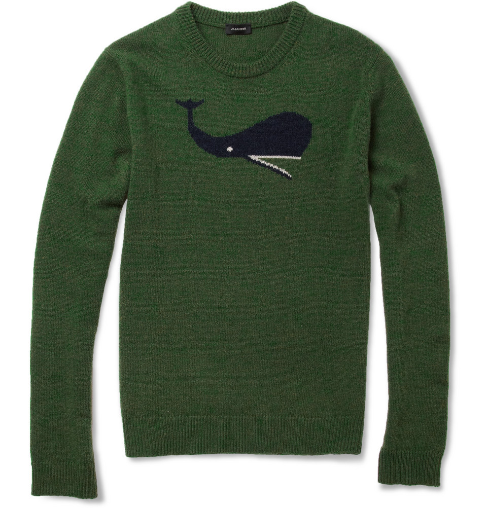 Jil Sander Whale sweater. Raf's last collection, v. important.