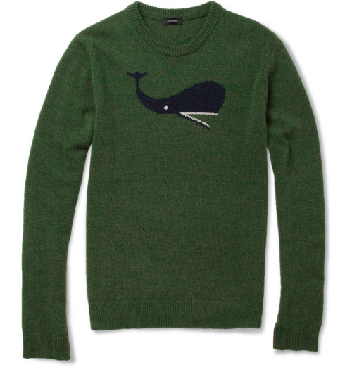 textbook:  Jil Sander Whale sweater. Raf's last collection, v. important.  くじらセーター