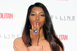 We chatted with Maybelline supermodel Jessica White last week, who was out giving kisses for a cause. Find out why she was puckering up and what it's like for her to see her face on massive billboards in our exclusive interview!