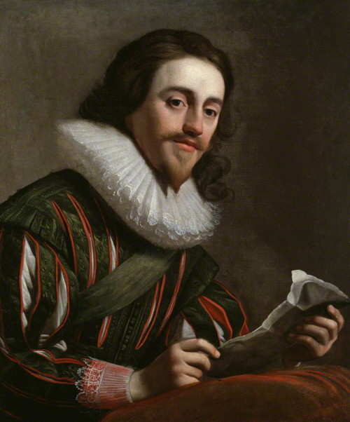 misshonoriaglossop:  King Charles I (19 November 1600 – 30 January 1649) by Gerrit van Honthorst, oil on canvas, 1628