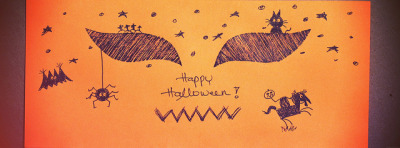 Happy Halloween Facebook cover on Flickr.Via Flickr: Pull up your head and YEE-HAA!!! (Actually, I need more spooky . It is damn boring here o(╥﹏╥)o)