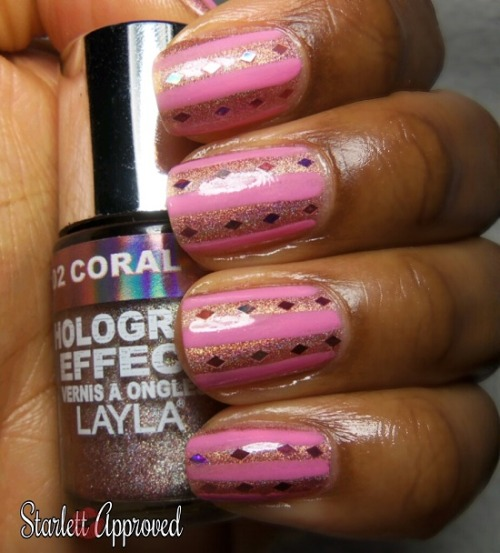 Layla Coral Glam, Stripes and Glequins…Read more on my blog here