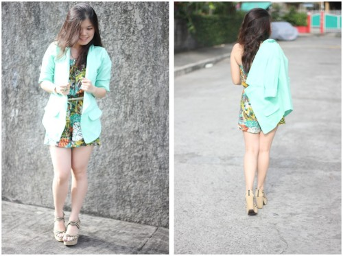 Shades of Green (by Pamela Jayne Ang)Details on this look on : http://pamelaang.blogspot.com/2012/11/shades-of-green.html :)