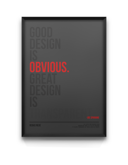 serialthrillerinspiration:  Good & great design