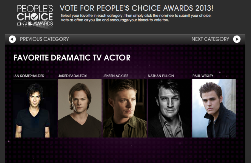 HOW AM I EVER SUPPOSED TO VOTE IN THIS FREAKING CATEGORY WITH IAN, JARED AND JENSEN ALL STANDING NECK TO NECK????!!!!!!!!!!!!!!!