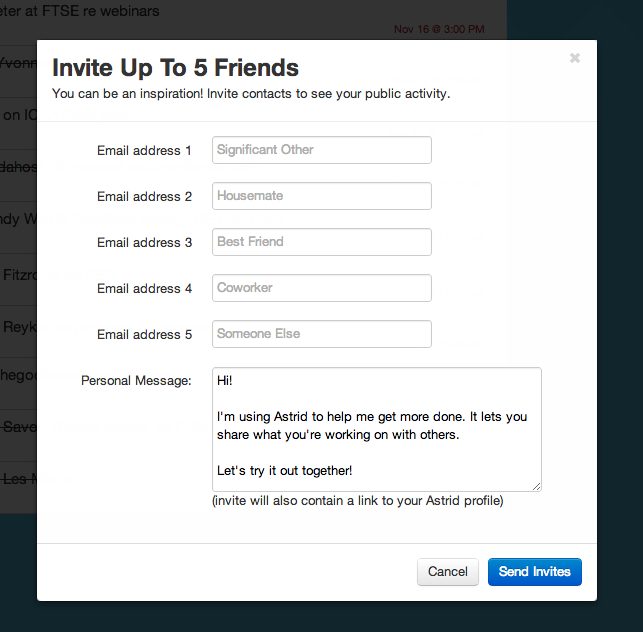 Submission/Y: great way to use the form placeholders for increasing sharing incentives. Submitted by Jack Bremer.
