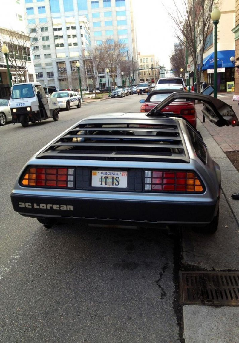 collegehumor:  It Is a Delorean  I went back in time and knew you were going to ask that question