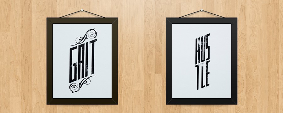 These two prints are now available for purchase online. They're printed by hand on a home-built letterpress machine with lasercut plates. Check out the video of a print being pressed here: https://vimeo.com/53216584