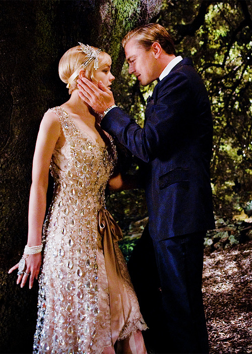 Leonardo DiCaprio and Carey Mulligan in The Great Gatsby (2013)