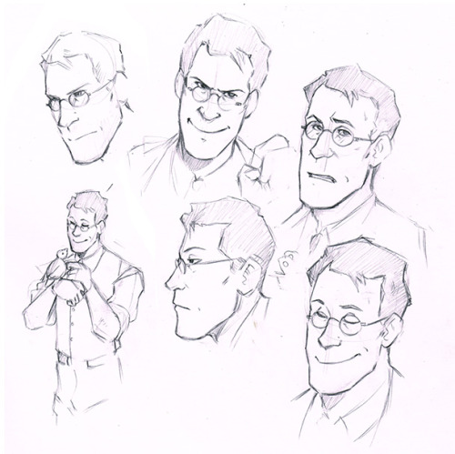 h0lyhandgrenade:  Few sketches while I try learn how to draw the Medic. He's my favourite, but also in my opinion the most difficult to draw. But isn't that so often the way…