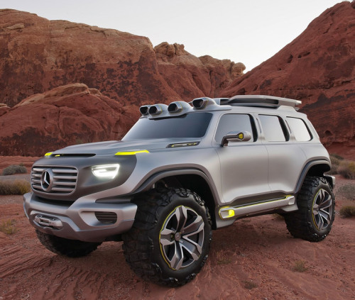 Mercedes-Benz Ener-G-Force Concept. Putting the design envelope through the shredder.
