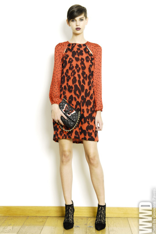 womensweardaily:   Moschino Cheap & Chic Pre-Fall 2013