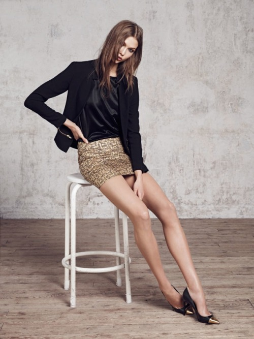 Karlie Kloss Stylebook for Mango Fall Winter 2012