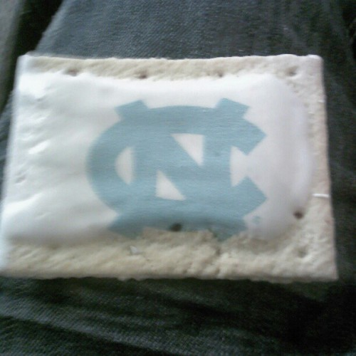 Tar Heels poptart for the win