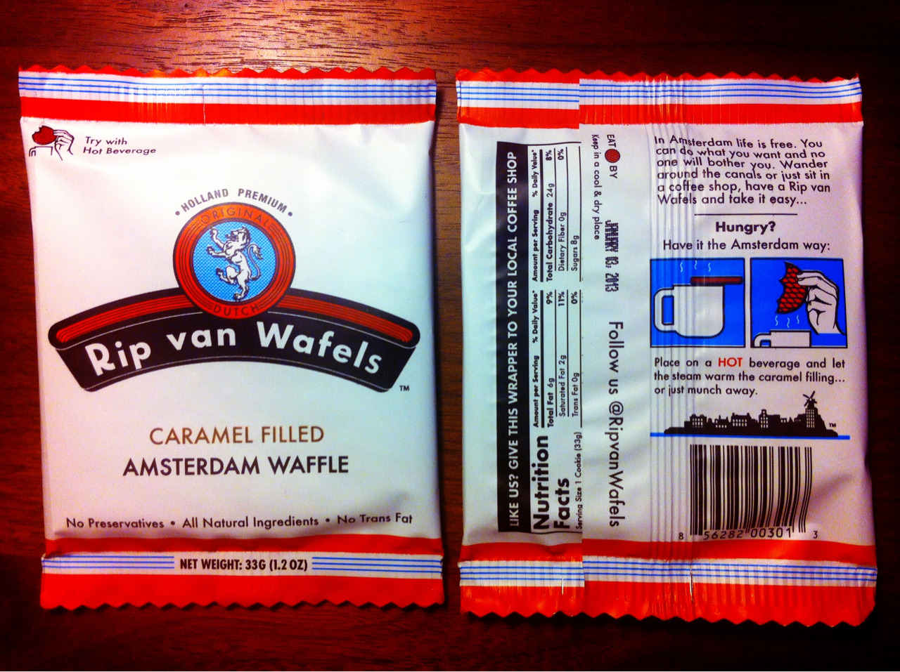 "Snack of the day @ Tumblr.  ""Damn those waffels are like crack"" - Wiktor"