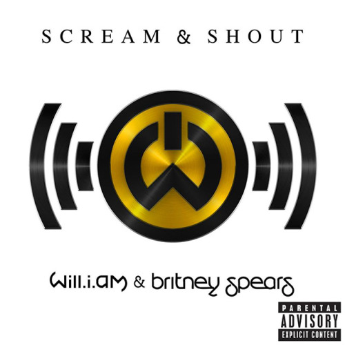 "Official ""Scream & Shout"" single cover"