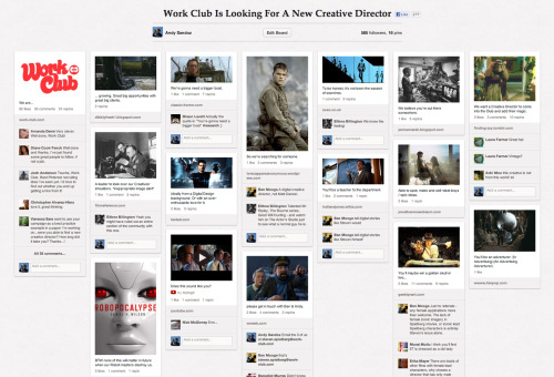 We - and by we - we mean us, Steven Spielberg and Pinterest went looking for a new CD. + Here's Fast Co helping out with our search…