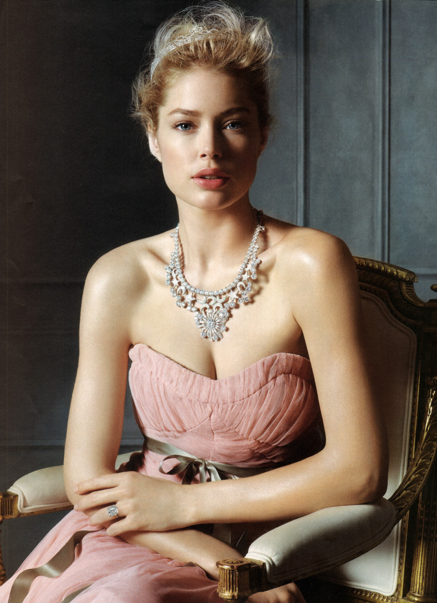 bohemea:  Doutzen Kroes for Tiffany