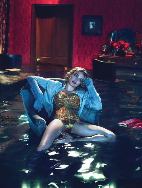 bohemea:  Natalia Vodianova: Sleep No More - W by Mert & Marcus, December 2012