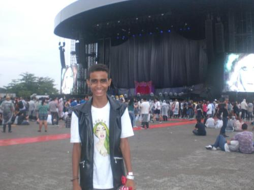 Me at my Born This Way Ball in Rio de Janeiro - Brazil The best day of my life! wecouldbelong.tumblr.com
