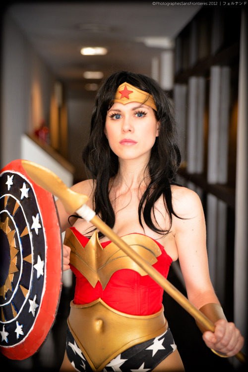 Princess Diana: Wonder Woman (Kotobukiya Version) by Lilia Lemoine Photographed by Fernando Brischetto of Photographes Sans Frontieres