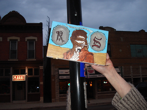 """nurses smile when you got iron veins"", chicago, 2007"